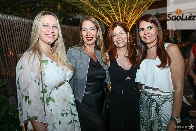 Lia Fontes, Daniela Holanda, IVana Maia e Lorena Pouchain