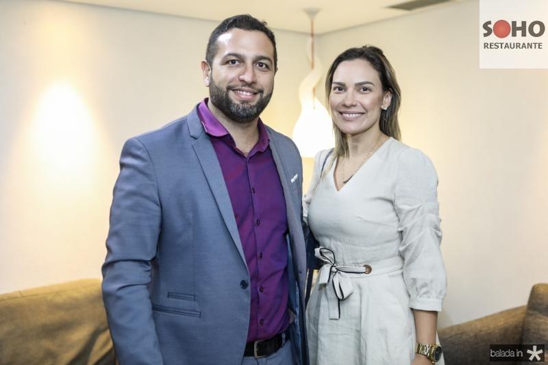 Andre Bernard e Cristina Oliveira