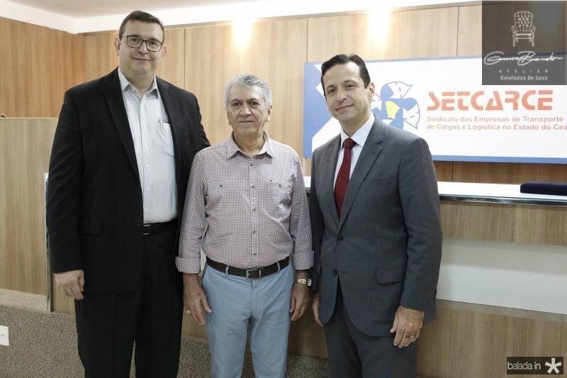 Marcos Viana, Clovis Nogueira e Fred Albuquerque