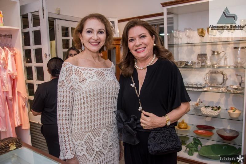 Celia Caminha e Fatima Oliveira