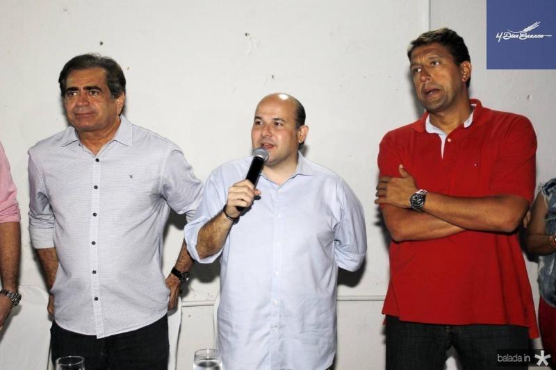Zezinho Albuquerque, Roberto Claudio e Gony Arruda