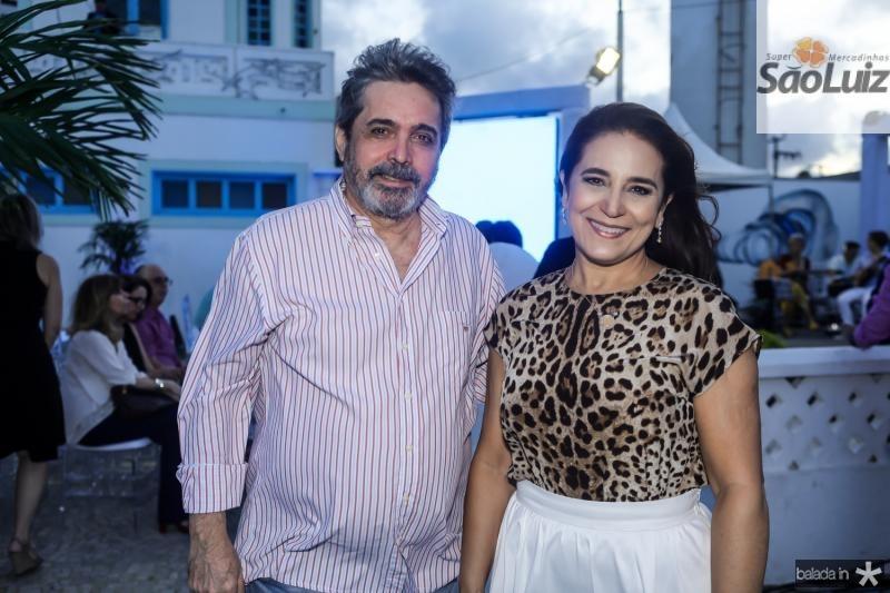 Totonho Laprovitera e Patricia Macedo