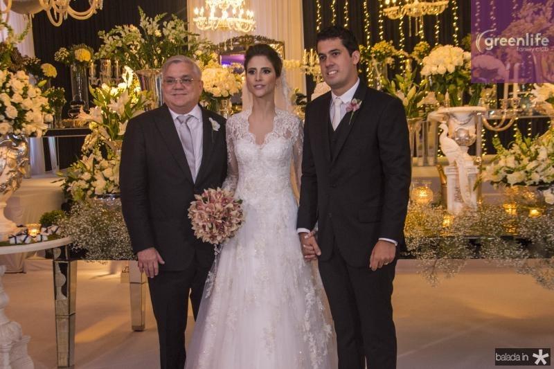 Urubatan Romero, Manoela Gladstone e Artur Bezerra