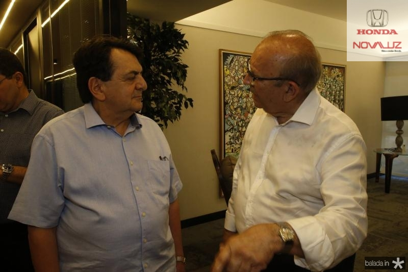 Paulo Afonso e Francisco Gadelha