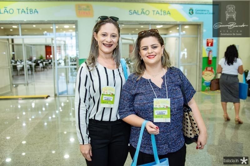Daniela Nogueira e Janicleia Amancio