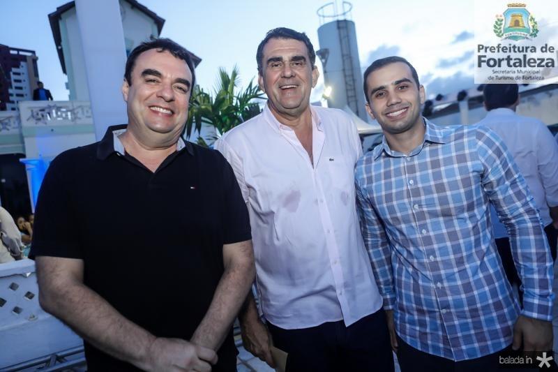 Claudio Ary, Antonio Aguiar e Said Bayde