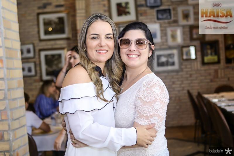 Raquel Vasconcelos e Raquel Cavalcante
