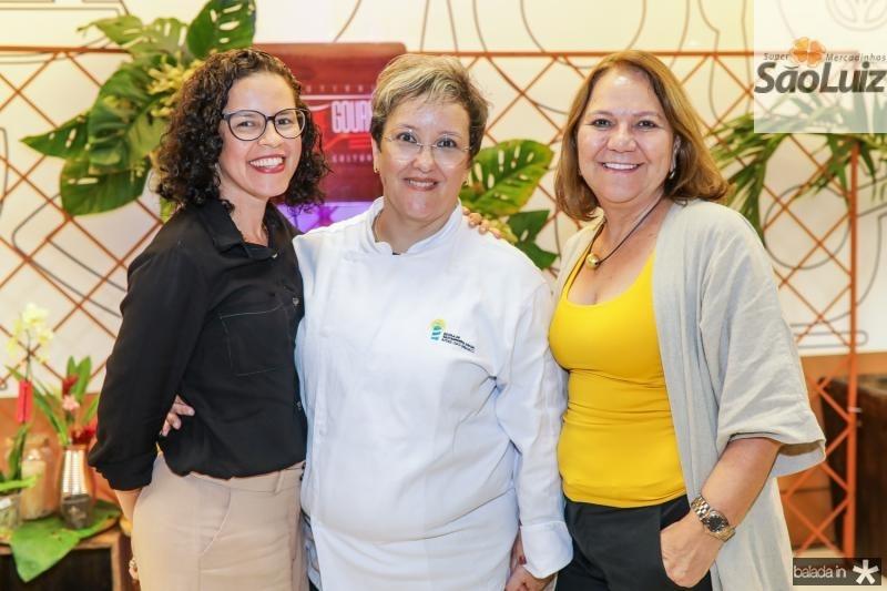 Lina Luz, Ana Paula Resende e Selene Penaforte