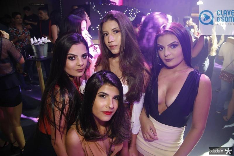 Vitoria Andrade, Janile Moura, Deise Alvizene e Viviane Andrade