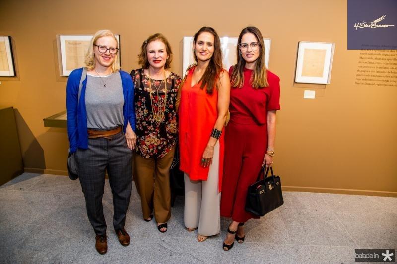 Mirela Rapoporte, Renata Jereissate, Manuela Barcelas e Marilia Quiroz