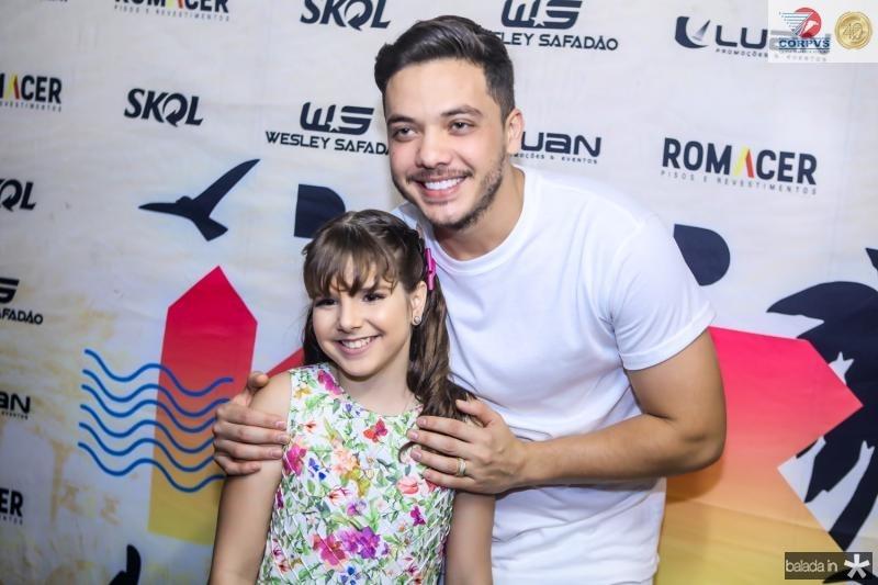 Isabella Bezerra e Wesley Safadao