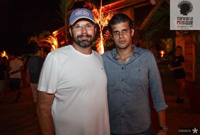 Luis Antonio Valadares e Bruno Borges