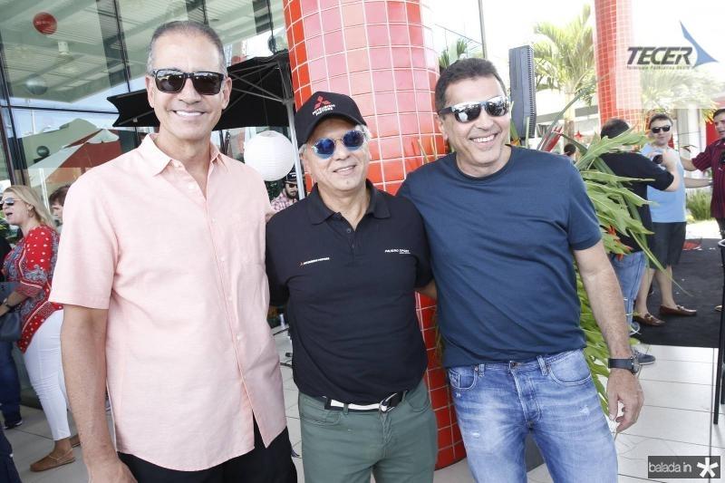 Regis Medeiros, Ricardo e Idesio Rolim