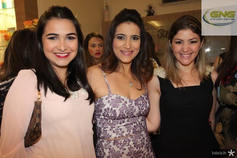 Nayana do Vale, Camila Rodrigues e Vanessa Queiroz