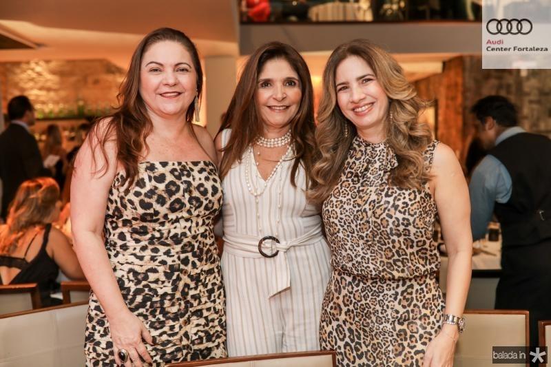 Lili Cialdini, Cristiane Figueiredo e Karmilse Marinho