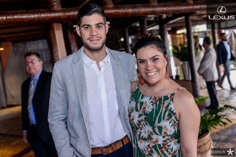 Lucas Farias e Vanessa Vasques