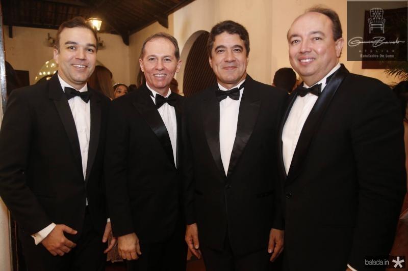 Erico Pessoa, Randal Pompeu, Paulo Teixeira e Weiber Xavier