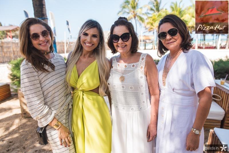 Marcia Andrea, Grazi Nogueira, Giana Studart e Guiomar Feitosa
