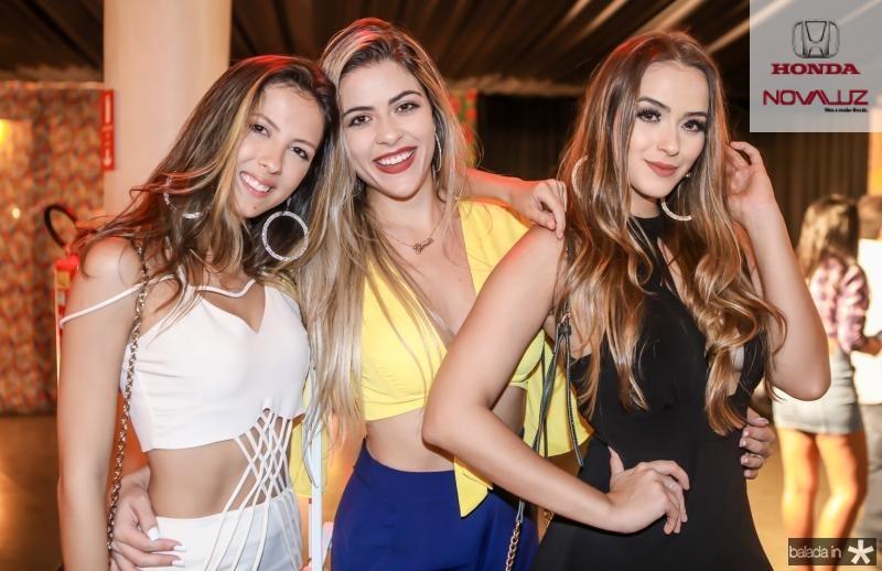 Maiara Gonsalves, Glenda Castro e Sara Perdomo