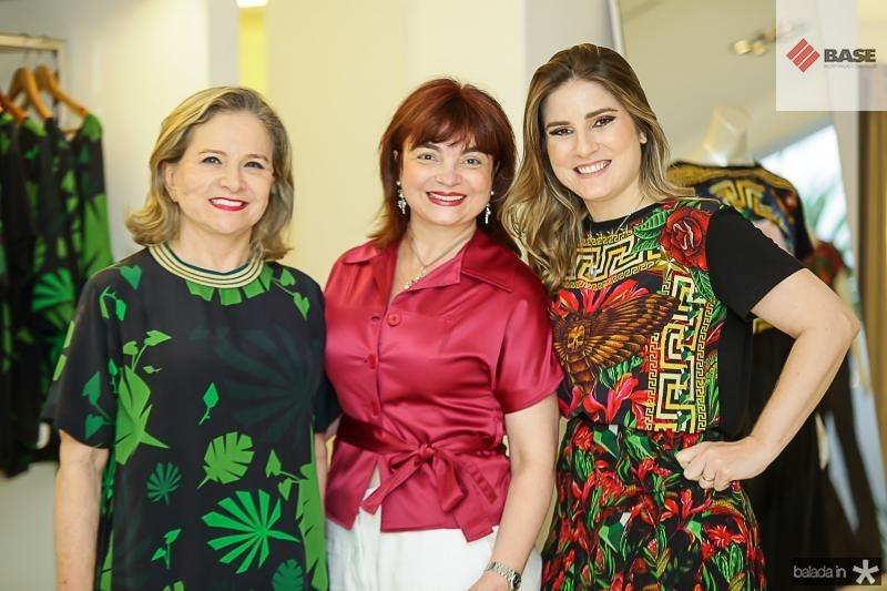 Natercia Jereissati, Cristiane Chaves e Maria Clara Dalolio