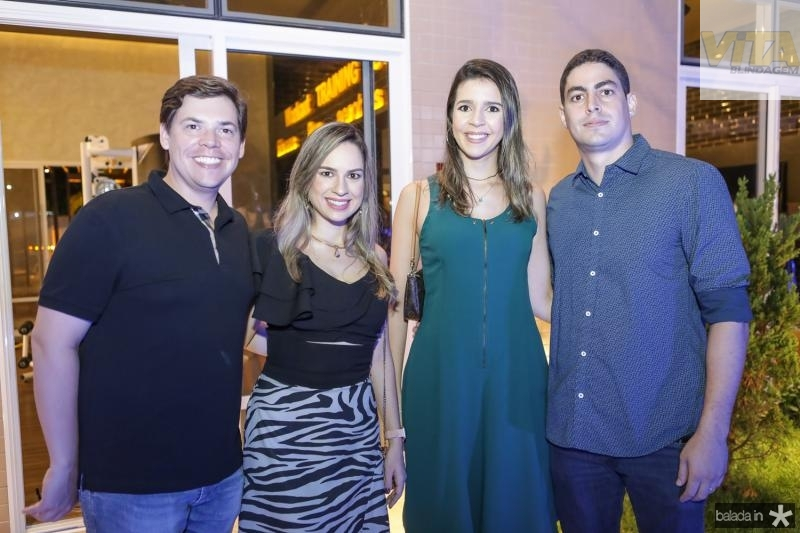 Leonardo e Camila Jensen, Raissa e Gleidson Pinheiro