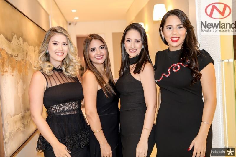 Raissa Bizinelli, Luciana Oliveira, Manoela Prado e Juliany Forte
