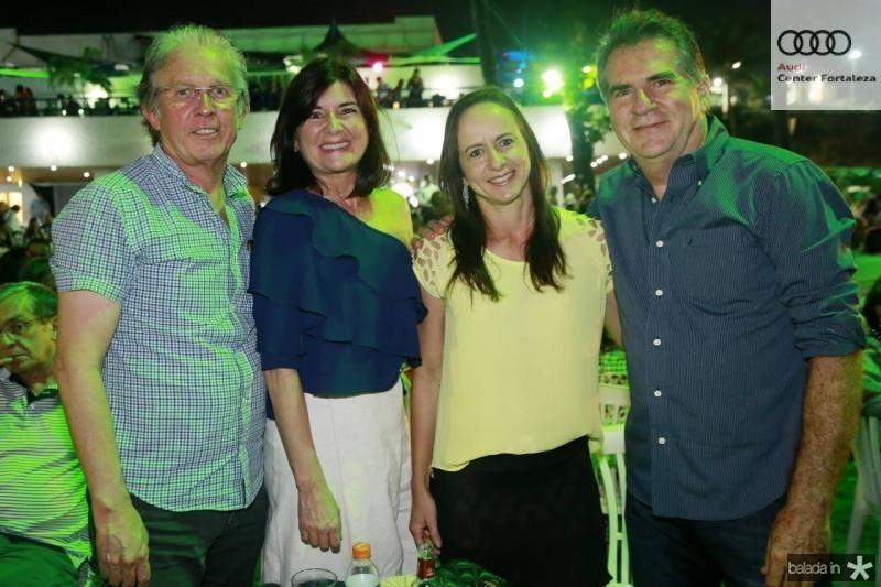Guga Abreu, Dominique Gomes, Andrea Diniz e Fernando Coelho