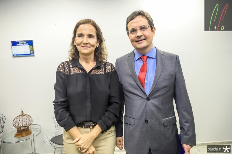 Izolda Cela e Edilberto Pontes