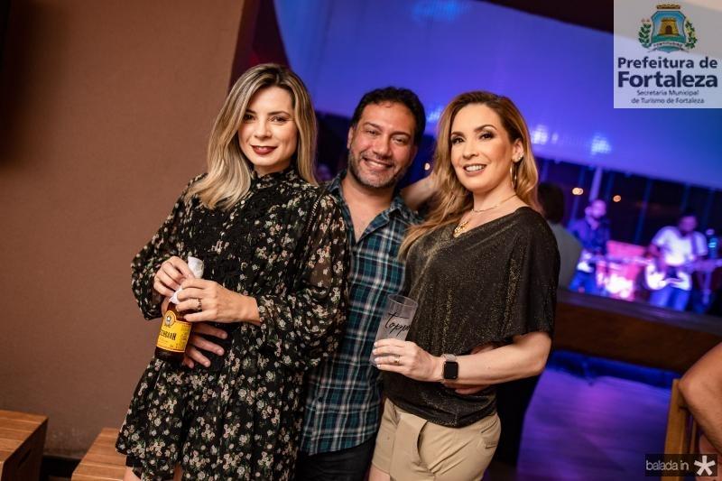 Elia Carvalho, Cid Saboia e Ana Cristina Lima