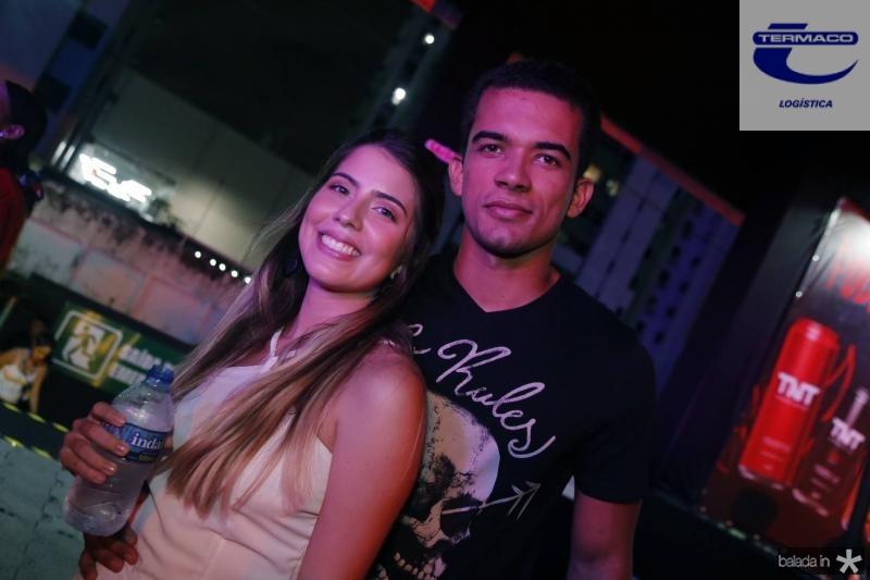 Elaine Ribeiro e Jonata Almeida