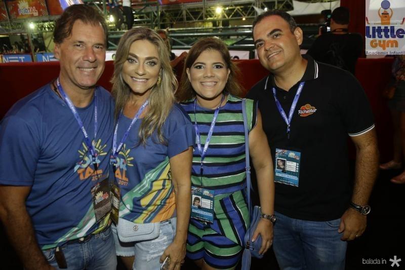 Arthur e Celia Magalhaes, Gisela e Herbert Vieira