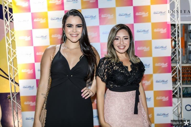 Lais de Deus e Fernanda Monteiro