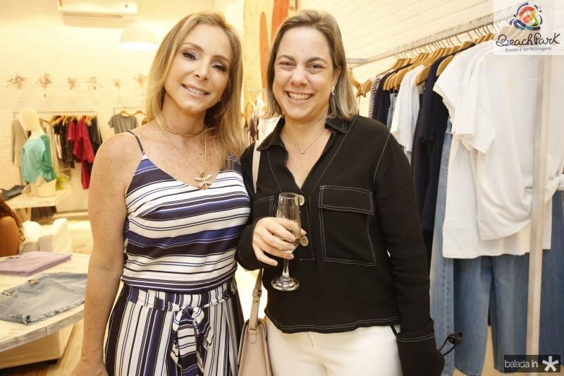 Ana Paula Daud e Milena Castelo