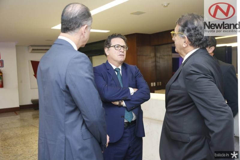 Regis Medeiros, Vinicius Lummertz e Arialdo Pinho