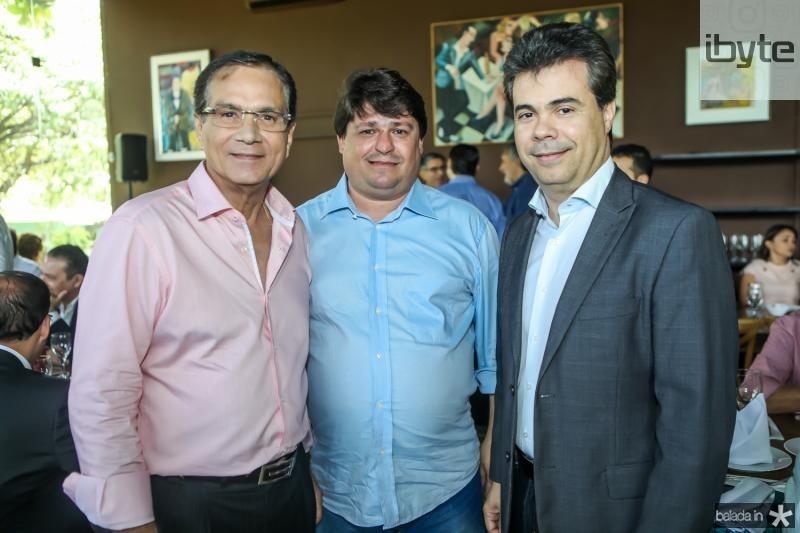 Beto Studart, George Lima e Duda Brigido