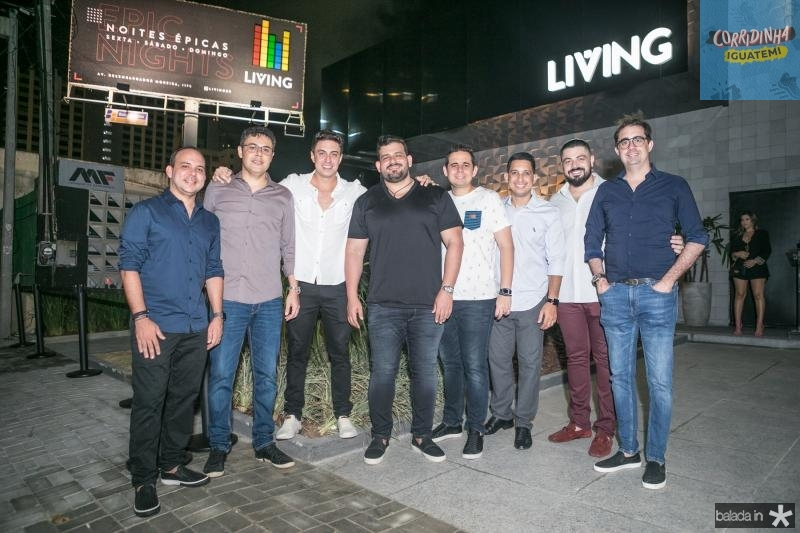 Daniel Meireles, Gustavo Cruz, Flavio, Renato Lourenço, Guilherme Nobrega, Lauro Sobreira, Rodrigo Morais e Pedro de Castro