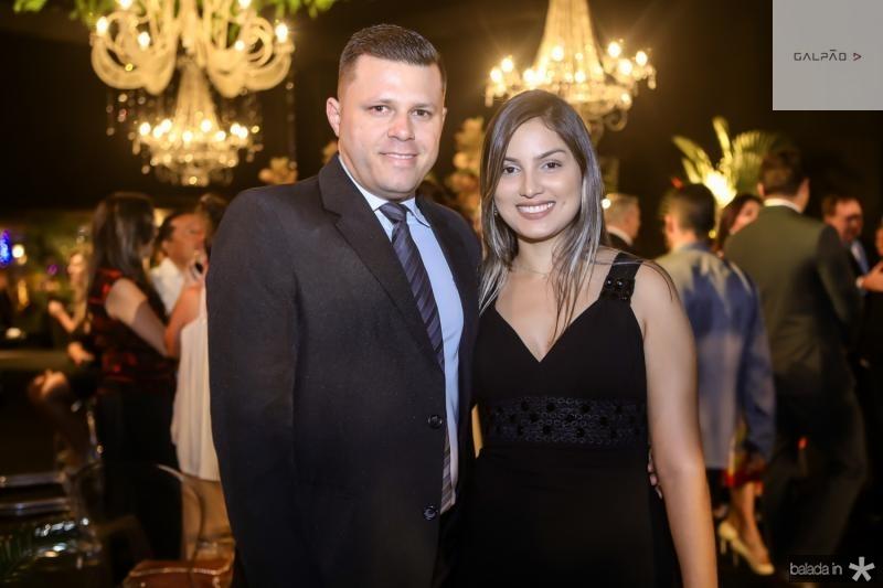 Caludemilson Vasconcelos e Natalia Braga