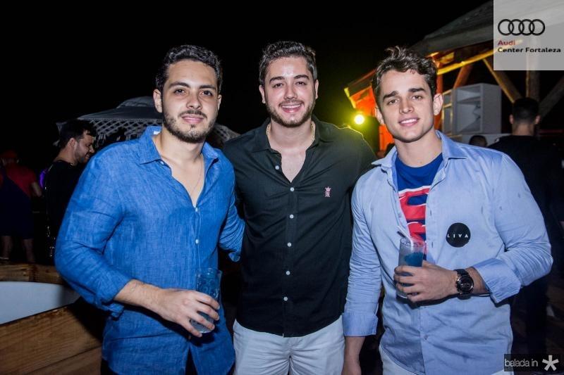 Joao Wagner Mourao, Adrisio Neto e Lucas Dias