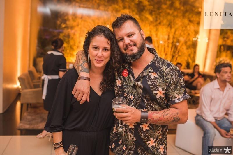 Dora Coelho e Leo Goncalves