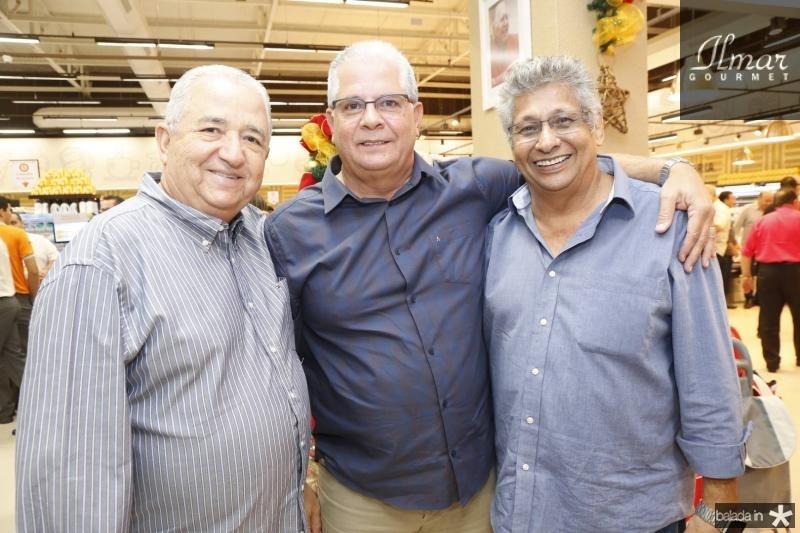 Hypolito Rocha, Fernando Ramalho e Zezinho Jereissati