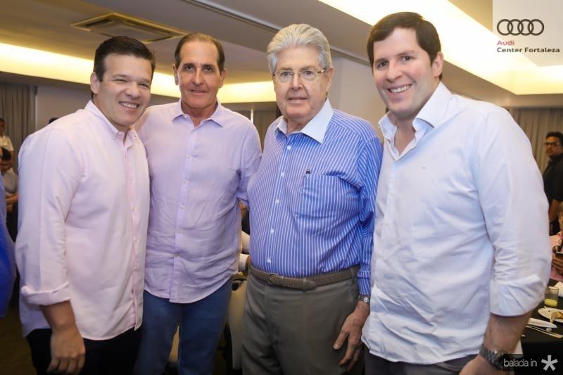 Ferruccio Feitosa, Joao Fiuza, Lucio e Rodrigo Carneiro