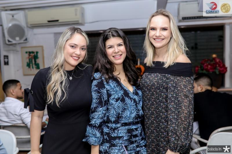 Marcela Maia, Camila Feitosa e Mariane Magalhaes