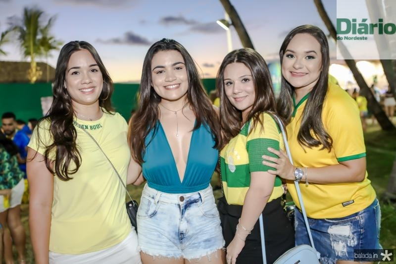 Ruth Torquato, Gabriela Alencar, Lara Oliveira e Lane Araujo