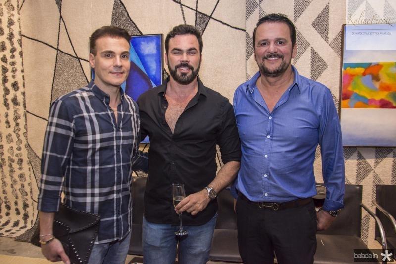 Rodrigo Maia, Cesar Fiuza e Adrisio Camara