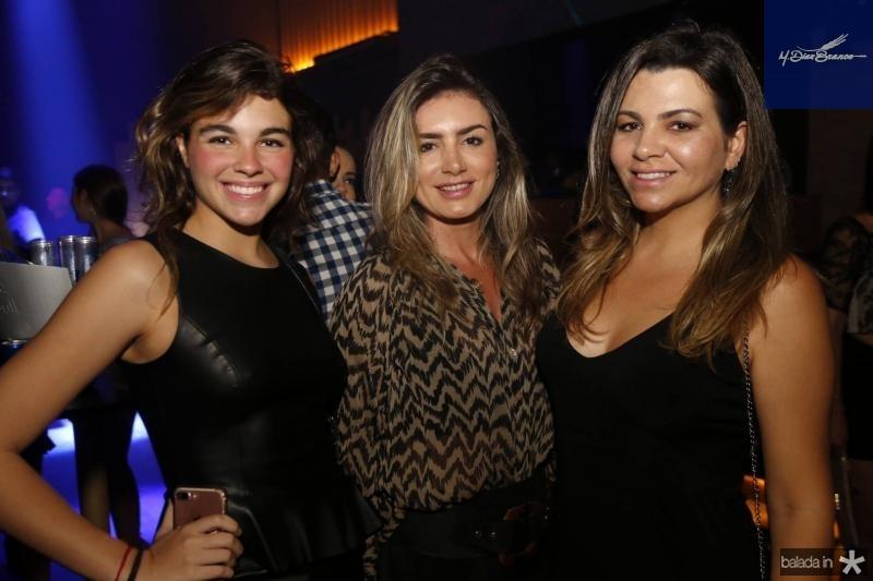 Alexia Angel, Jaqueline Maia e Cibele Angel