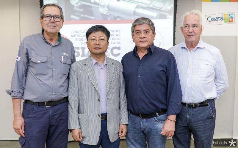 Ricardo Parente, Luis Min, Sampaio Filho e Carlos Prado