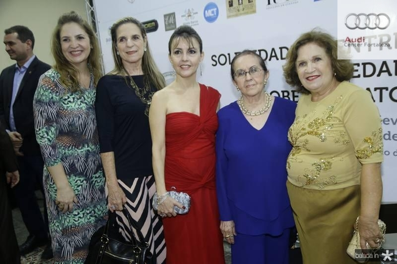 Enid Camara, Anya Ribeiro, Circe Jane, Zenilde Matoso e Socorro Abreu