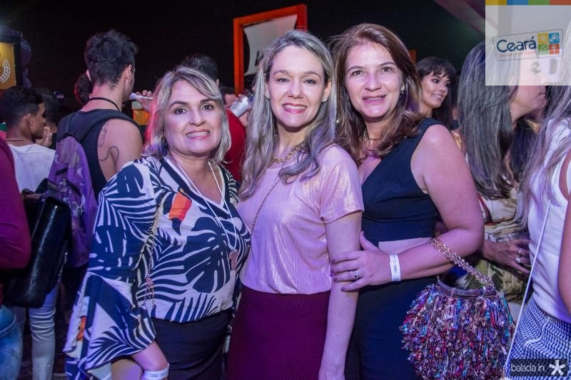 Marcia Lima, Erika Markan e Lavinha Benevides