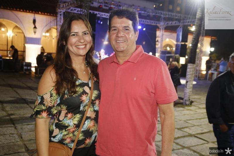 Camila Nobre e Fabio Junior