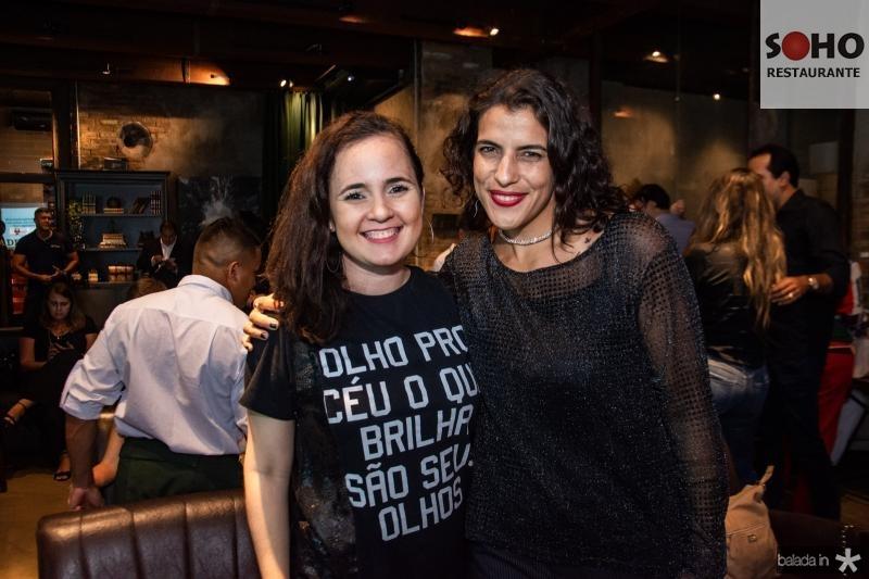 Larissa Bezerra e Andrea Cardoso